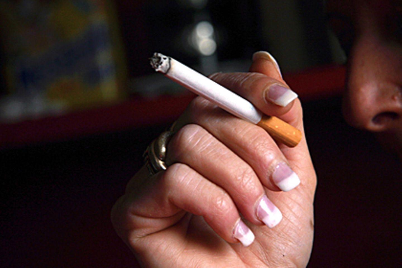 Die letzte Zigarette: Schon wenige Stunden danach beginnt die Regeneration