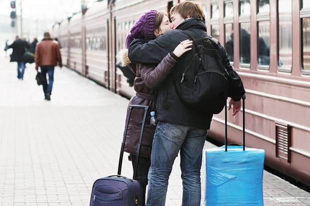 So traurig die Abschiede sind, so schön ist zum Beginn des Wochenendes das Wiedersehen
