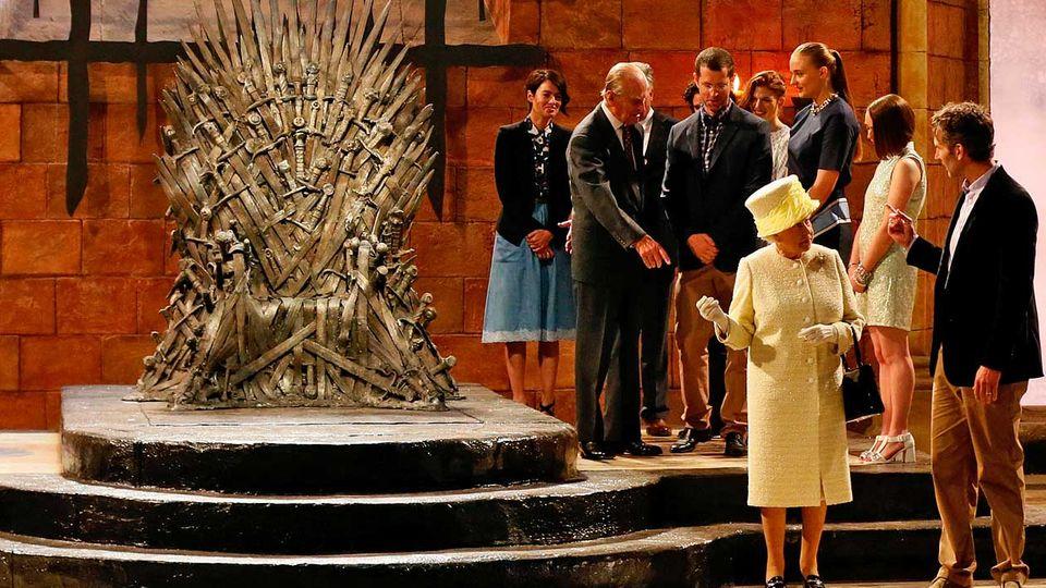 "Königin Elisabeth bei ""Game Of Thrones"": Queen of Thrones"
