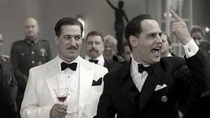 Tobias Moretti als Ferdinand Marian und Moritz Bleibtreu als Joseph Goebbels