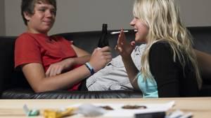 Auf das Gehirn von Jugendlichen hat der Cannabis-Konsum deutliche stärkere Auswirkungen als bei Erwachsenen