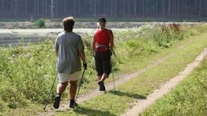 """Das Programm """"Aktiv aus dem Stimmungstief"""" ist ein moderates Ausdauertraining - bestehend aus Walking, leichtem Lauftraining und spielerischen Übungen"""
