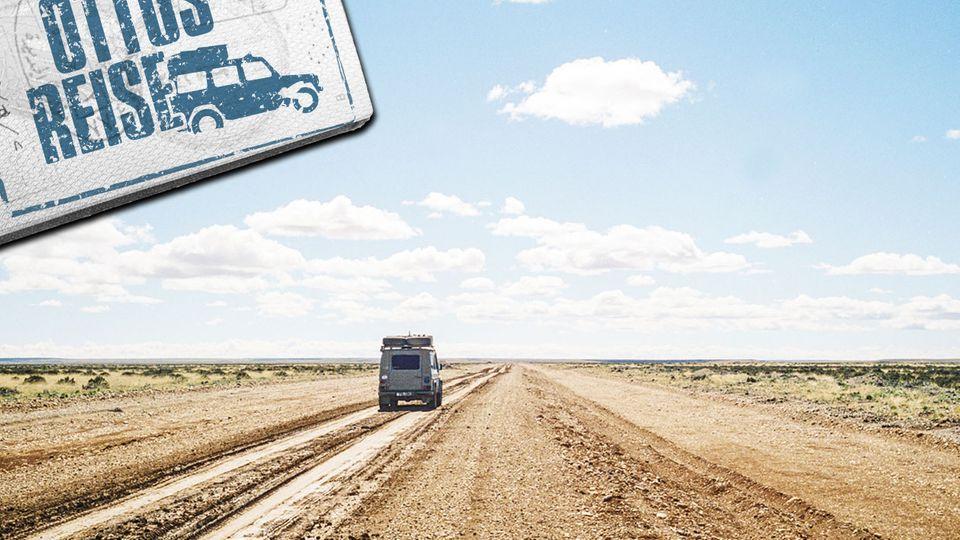 Durch die Pampa: 2400 Kilometr sind es von Buenos Aires bis Ushuaia in Feuerland.