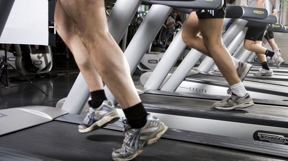 Gesund fit werden - besonders bei Anfängern ist eine gute Betreuung wichtig.