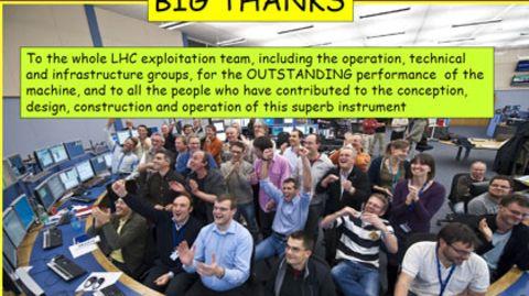 Präsentation des Higgs-Teilchens sorgt für Gelächter: Jahrhundertentdeckung in Comic Sans