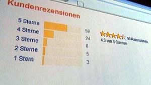 Haufenweise gute Bewertungen: das bewegt viele Kunden von Online-Shops zum Kauf.