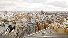 Blick vom Potsdamer Platz in Berlin: Vor allem in Berlin-Mitte sind die Preise für Immobilien - und damit auch die Mieten - explodiert