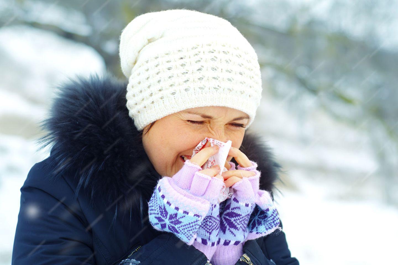 Kaltes und feuchtes Wetter: Erkältungen haben wieder Hochsaison.