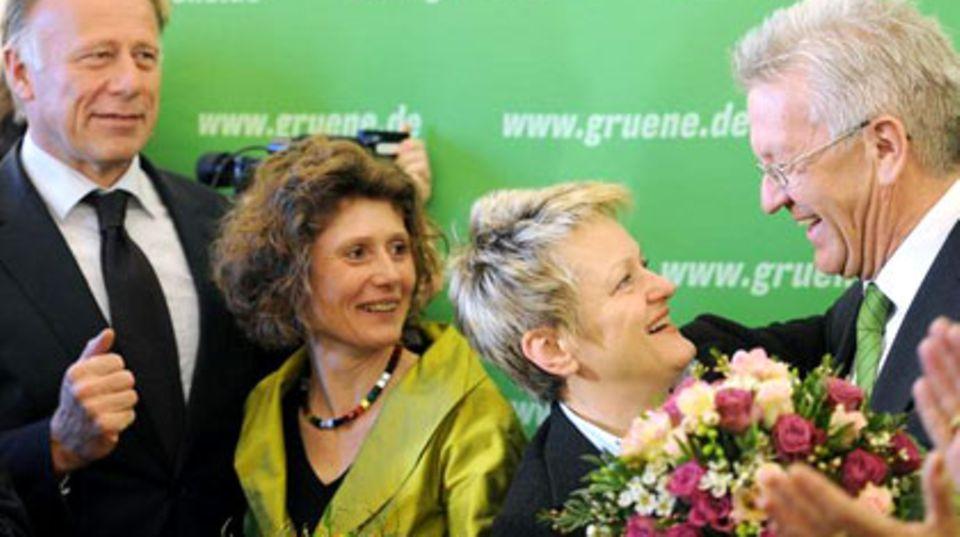 Nach der Wahl in Baden-Württemberg: Pro&Contra: Die Grünen - eine Volkspartei?