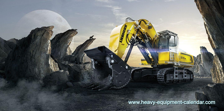 Einer, der kraftvoll zubeißen kann. Der Liebherr R 976 muss meist im Steinbruch schaffen. Mit rund 95 Tonnen Gewicht und 544 PS rückt er dem Fels zu Leibe.