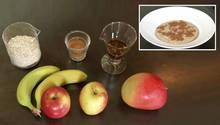 Rezept Apfel-Banane-Mango-Porridge: Der leckere Start in den Tag