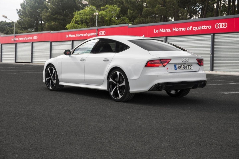 Beim Audi RS 7 Sportback sollte man unbedingt das Torque-Vectoring Sport-Differential ordern.  Wolfgang Gomoll/press-inform