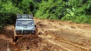 Dick im Schlamassel: Weihnachten im Regenwald von Guyana.