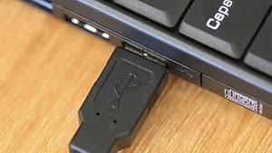 Die Programmierer von Computerviren nutzen USB-Anschlüsse als Einfallstore in den Computer