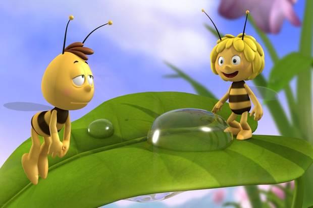 Haben ordentlich Pfunde verloren: Das ZDF zeigt Willi und Biene Maja in einer deutlich abgespeckten Version, dafür aber in 3D.