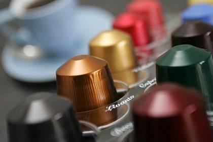 Munition für den Lifestylekaffee: Nespressokapseln. 500g würden rund 25 Euro kosten