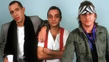 Peter Behrens mit seiner Band Trio