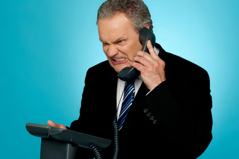 Telefonierst du noch, oder brüllst du schon?