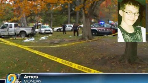 Tyler Comstock wurde von einem Polizisten erschossen
