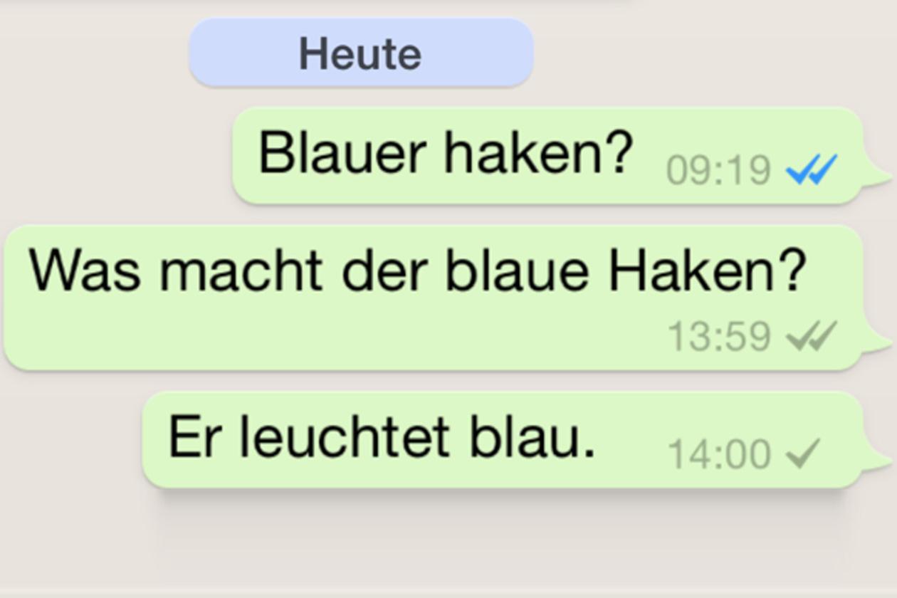 whatsapp blaue haken wieder verschwunden