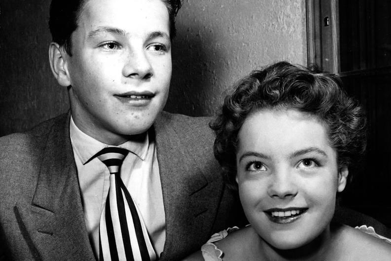 Götz George Vater Ehemann Und Schimanski Bilder Seines Lebens