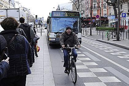 Rad oder Bus -das reicht in der Großstadt aus