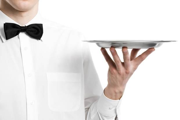 Kellner können dem Gast manchmal den letzten Nerv rauben. Vor allem, wenn sie gar nicht da sind.