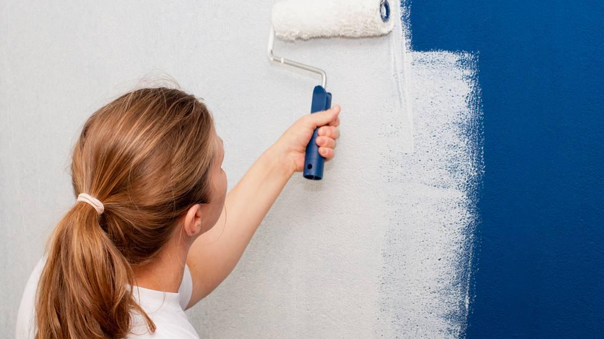 Wandfarbe im test: streichen mit billigfarbe oder markenqualität ...