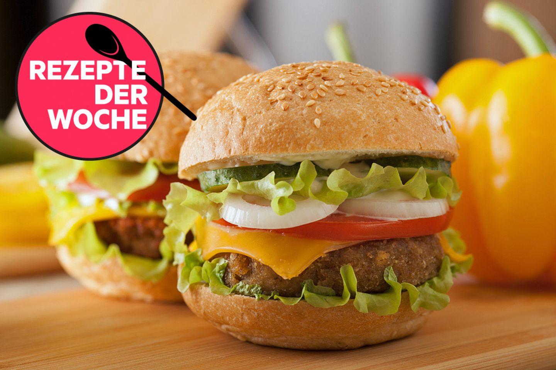 Rezepte der Woche: Würzige Burger und eine sündige Torte