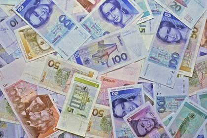 Der Deutschen liebste Währung: 172 Millionen D-Mark-Scheine und fast 23,8 Milliarden D-Mark-Münzen befinden sich noch im Umlauf