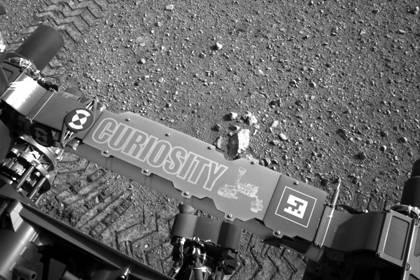 """Hat der Marsrover """"Curiosity"""" Spuren von Leben auf dem Mars gefunden? Die Nasa heizt die Spekulationen mit einem Interview an."""