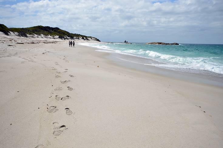 Über zwei Tage geht es einsam am Meer entlang an, fern jeglicher Zivilisation. Hier sieht die Küste noch immer so unberührt aus wie im Jahre 1642, als der niederländische Seefahrer Abel Tasman den Landstrich für die Europäer entdeckte.