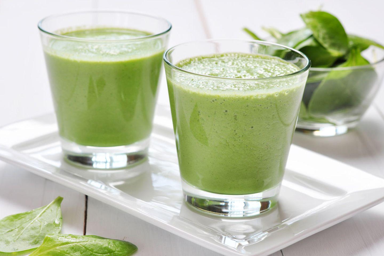 Grün und gesund? Ja, Smoothies sind nicht nicht schlecht für die Gesundheit