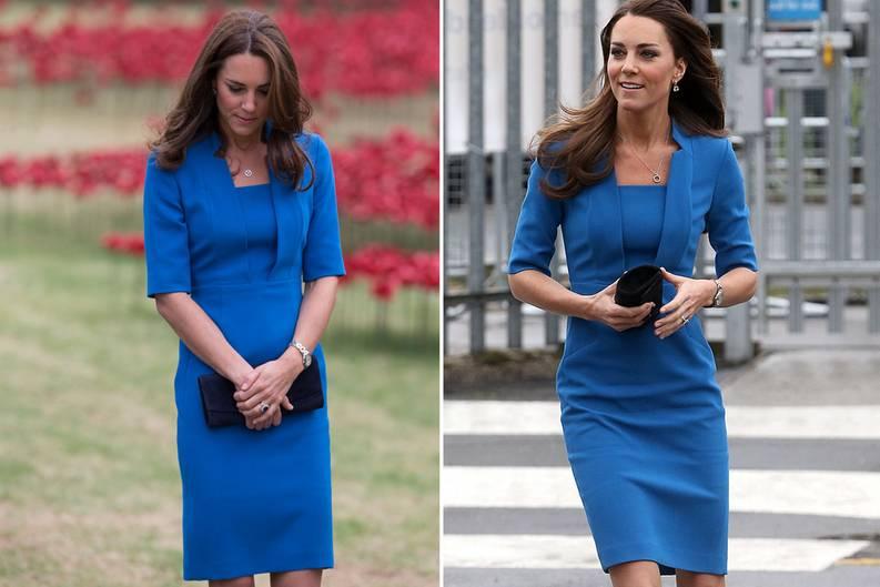 Kate recycelt ihre Kleider: Herzogin Catherine trägt dasselbe Outfit ...