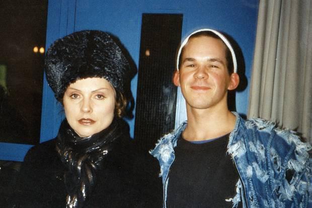 Debbie Harry und ich 1996 backstage in Kaiserslautern