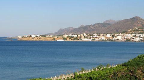 Blaues Meer und blauer Himmel - kein Wunder, dass Griechenlands Sympathiewerte hoch sind