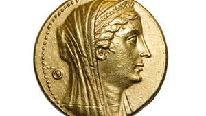 Eine antike römische Goldmünze: Das Edelmetall ist seit tausenden Jahren eine beliebte Währung
