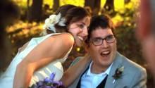 Die Hochzeit war für beide der schönste Tag in ihrem Leben