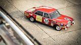 """Die Rennversion des Mercedes 300 SEL 6.3 aus dem Jahr 1971 bekam den Spitznamen """"Rote Sau""""."""