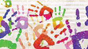 Wer stempelt, hat manchmal Farbe an den Fingern ...