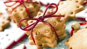 Geschenke aus der Küche: Über Kekse und Kleingebäck freut sich jeder, erst recht an Weihnachten.