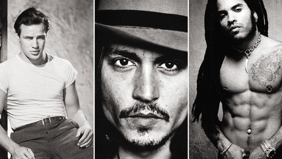 Marlon Brando, Johnny Depp, Lenny Kravitz