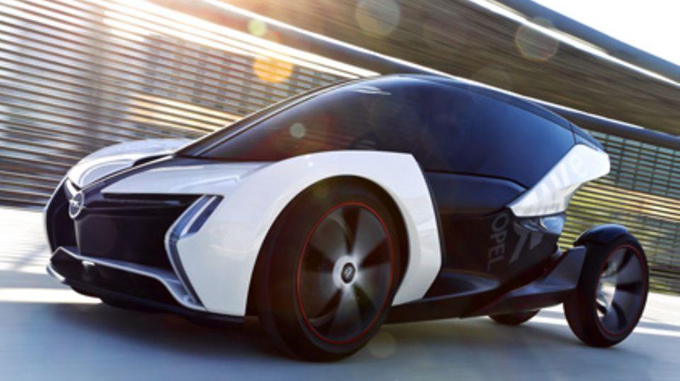 Der Opel Rak e ist ein Hingucker, der so nicht in Serie gebaut wird