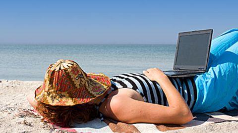 Das Notebook im Urlaub - für viele unverzichtbar