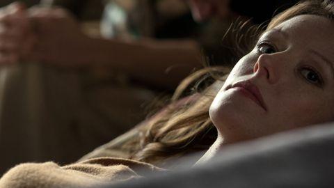 """Lavinia Wilson in der Rolle der schwer traumatisierten Elizabeth Kiehl in der Verfilmung von Charlotte Roches Bestseller """"Schoßgebete"""""""
