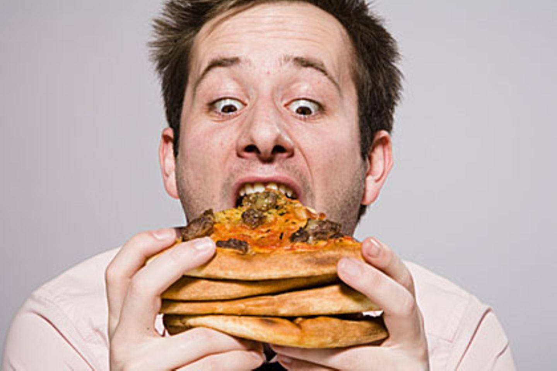 Lippe beißen die beim essen auf 3 Signale: