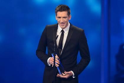 Stellvertretend für alle Macher der Sendung bedankte sich Moderator Steffen Hallaschka für die Auszeichnung.