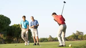 Der Golfclub, in dem man Mitglied ist, führt auch das Handicap