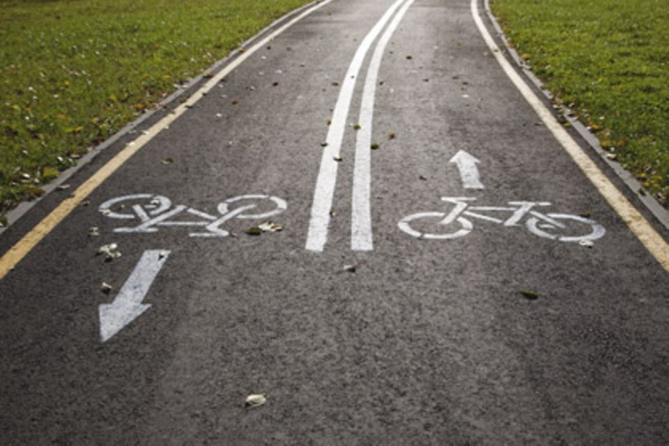 Cycling can be easily integrated into everyday life and often helps to switch off