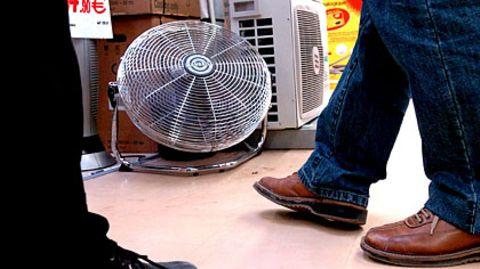 Ventilatoren kühlen nicht nur heiße Köpfe – auch verschwitze Füße